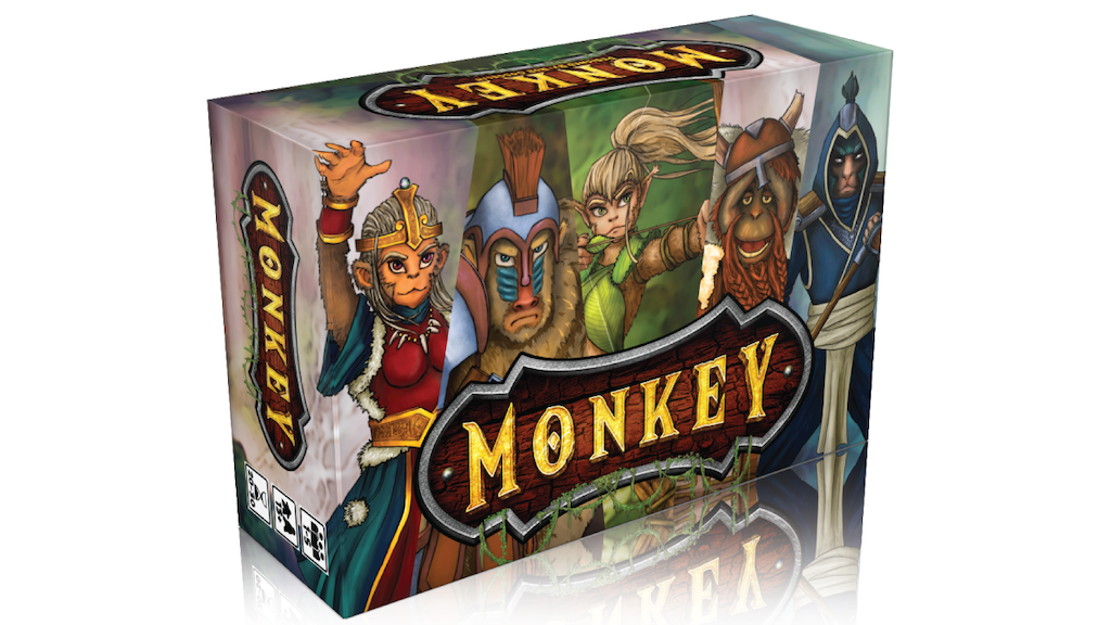 Monkey The Card Game project video thumbnail