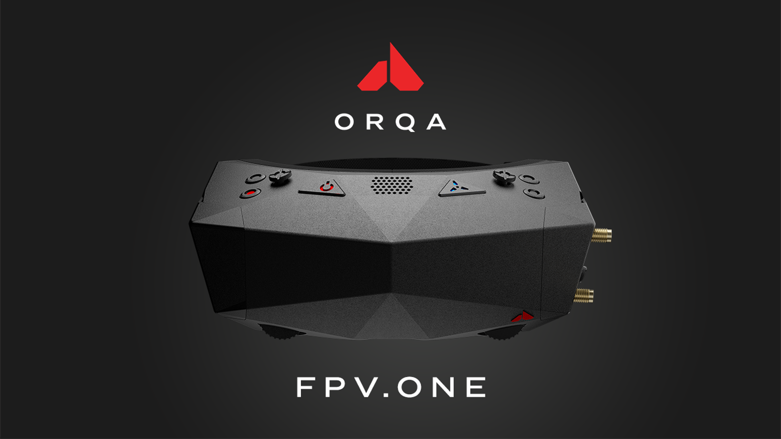 Orqa FPV.One - Most exciting and innovative FPV Goggles for FPV simulations, drone  racing and freestyle