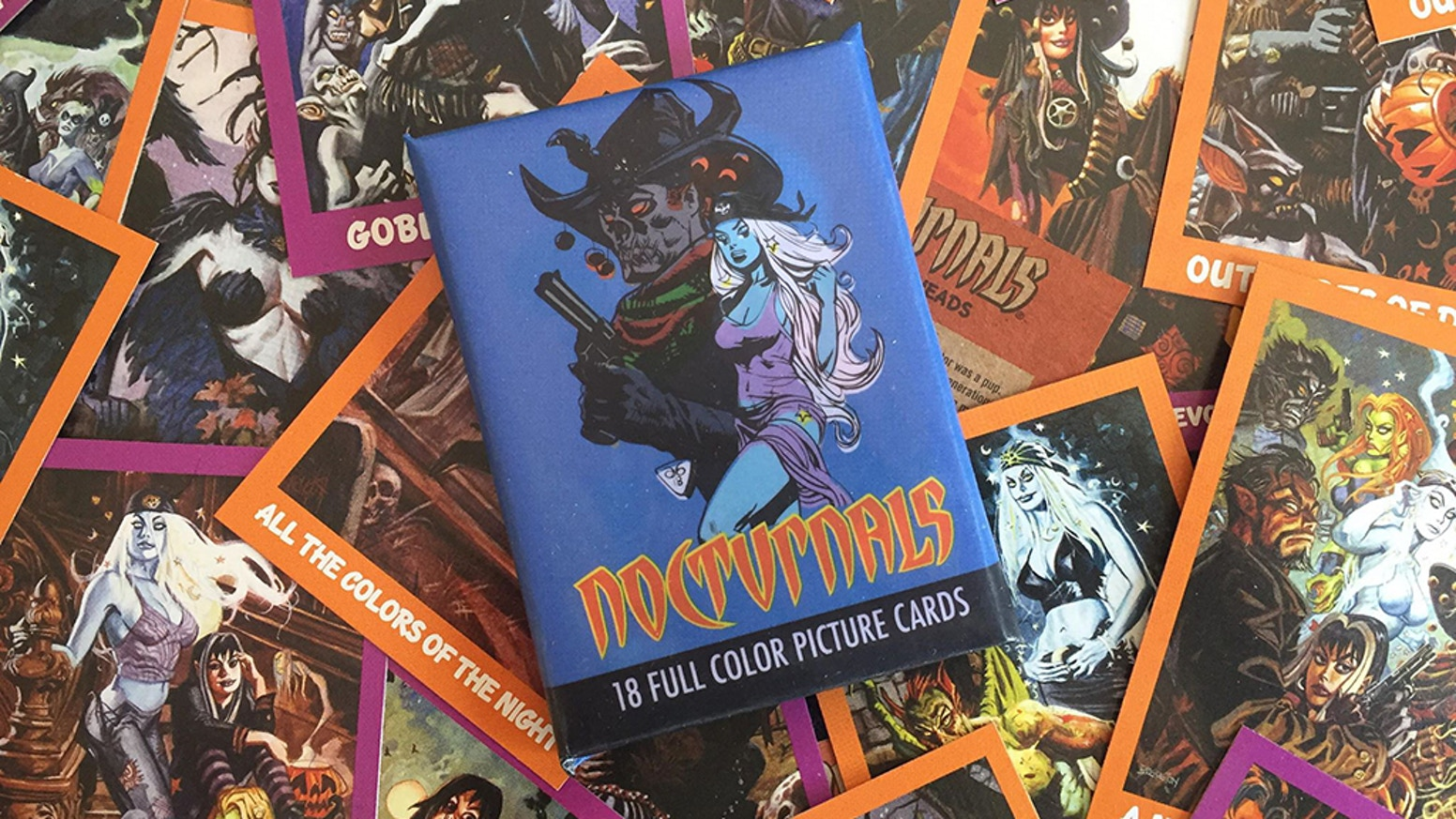 Nocturnals trading cards by Dan Brereton