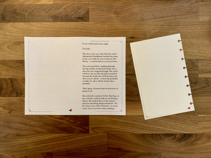 Print your pages from the comfort of your own home!
