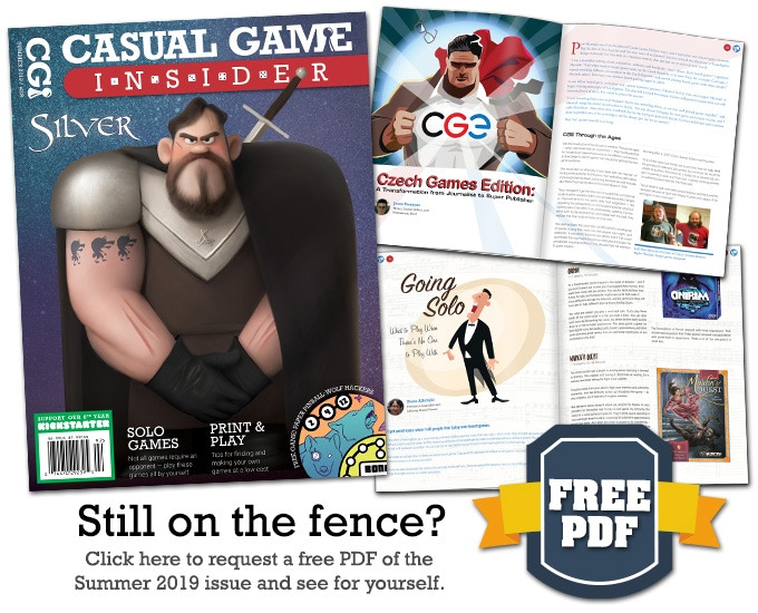 Casual Game Insider - Board Game Magazine (8th Year) by