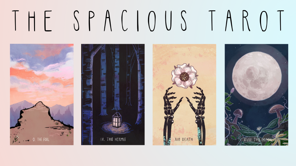 The Spacious Tarot project video thumbnail