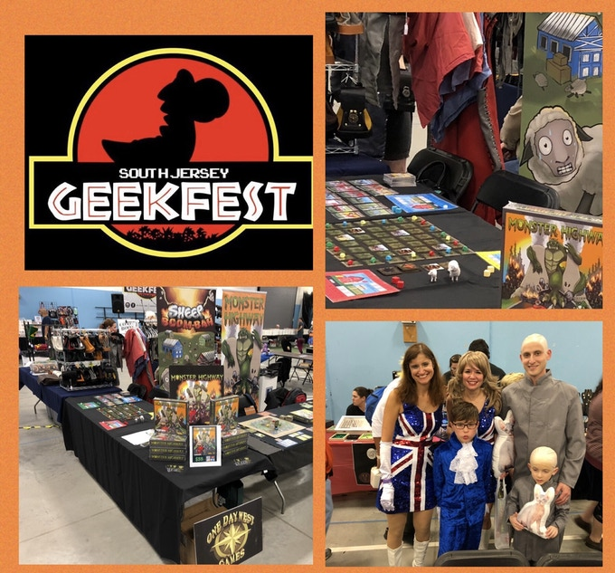 South Jersey Geekfest - Woodbury Heights, NJ - 2018