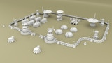 3D Printable Alien Tau-Style Scenery for Tabletop Wargames thumbnail