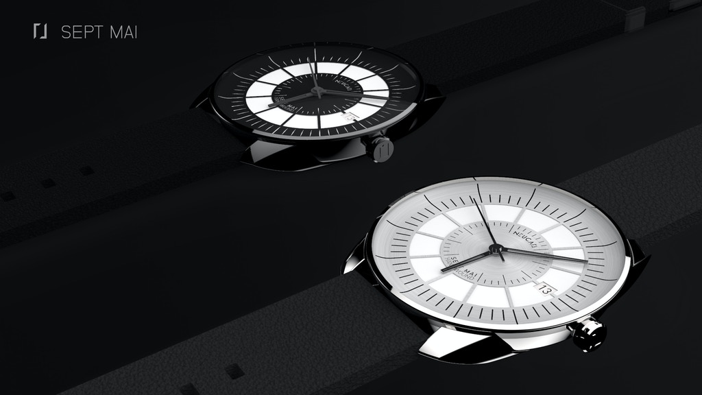 Project image for Sept Mai, Your Most Classy Mechanical Watch, by Neucarl. (Canceled)