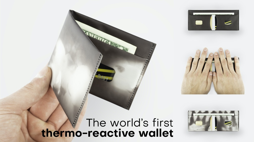 Sensy Wallet - The world's first heat-sensitive wallet