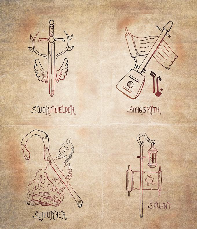 Generalized Player Class Emblems