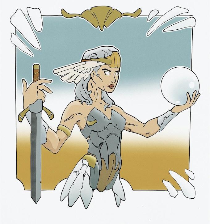 Verluna, the Slumbering Queen