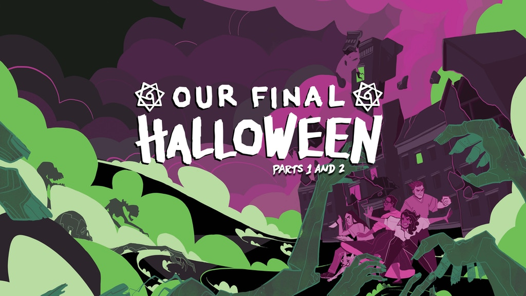 Our Final Halloween 1 and 2 project video thumbnail