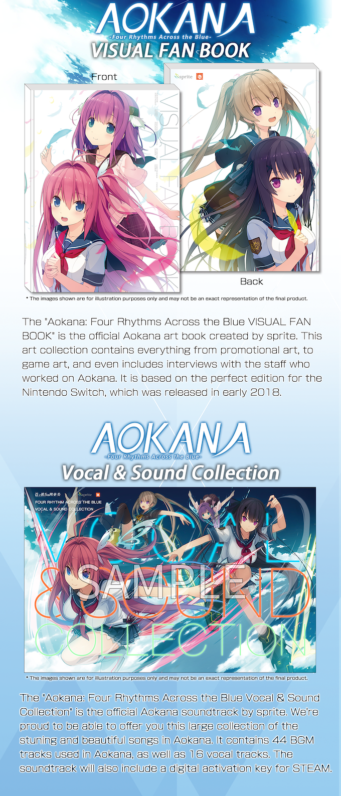 Visual Fan Book & Physical Deluxe OST Collection