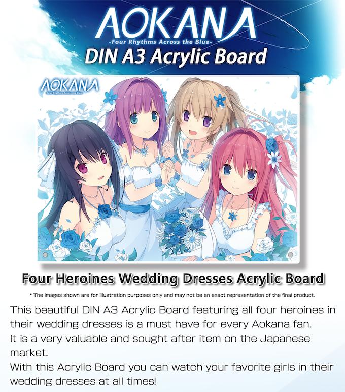 DIN A3 Acrylic Board