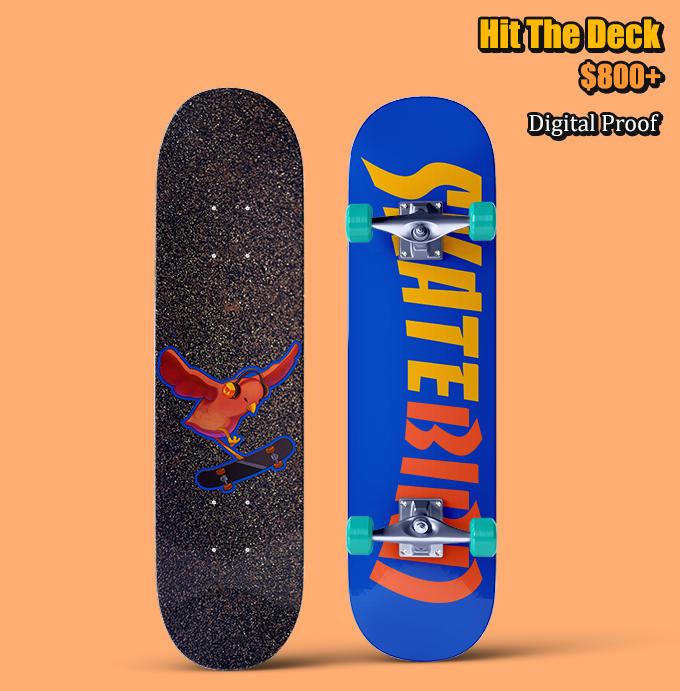 SkateBIRD: Be A Skateboarding Bird! By Megan Fox