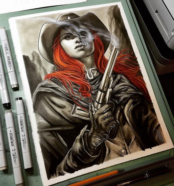 Original Artwork by Alexandre Tso
