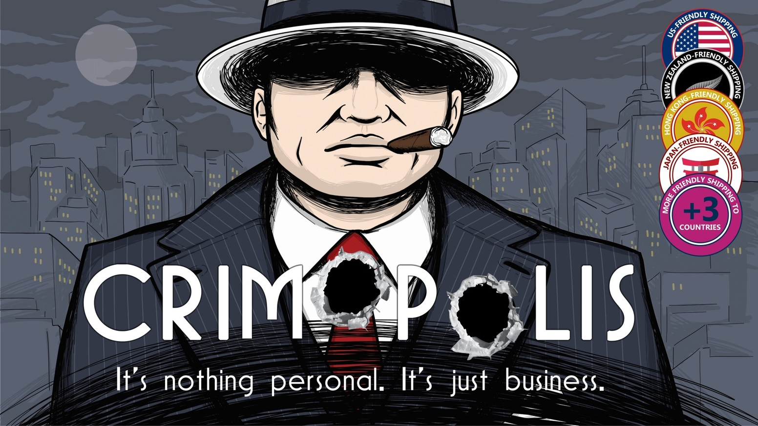 Fast-paced worker and tile placement strategy game set in an incredibly immersive 1920s gangster world.