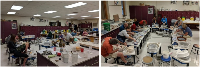 Community Pottery Classes