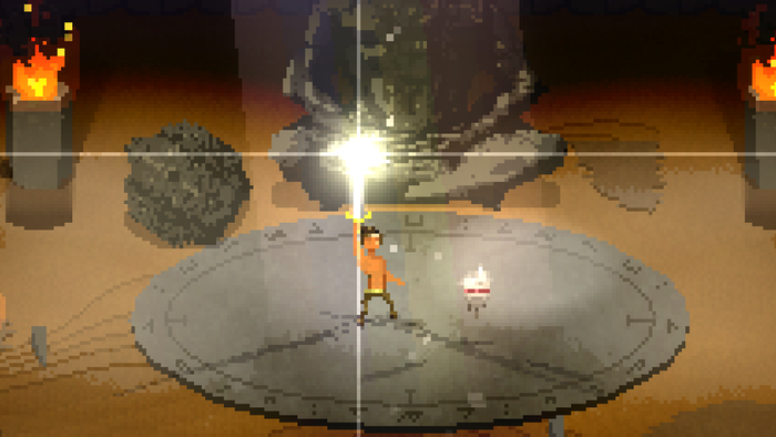 An action RPG with swords, secrets, bombs and stuff.