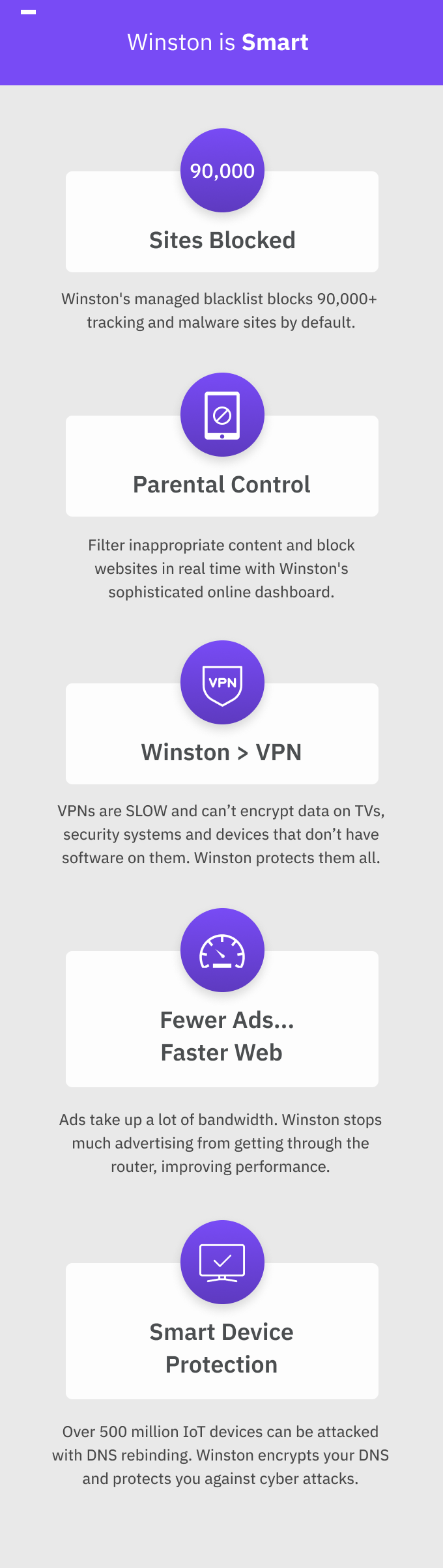 Winston: Take Back Control of Your Online Privacy by Winston