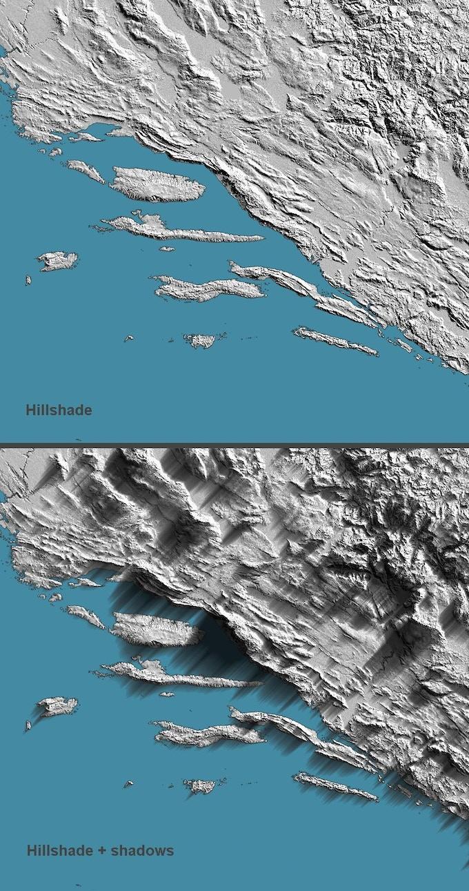 Dalmatian coast (Croatia)