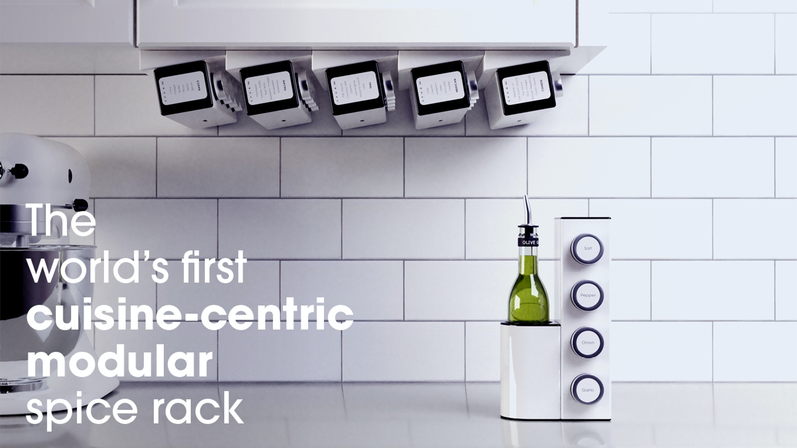 The spice rack reinvented for faster, more inspired cooking