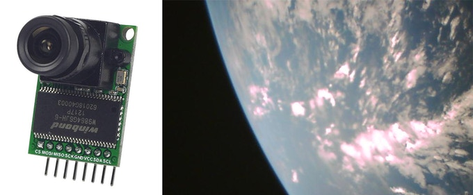 ArduCAM                   Sample Earth Image [Cal Poly]