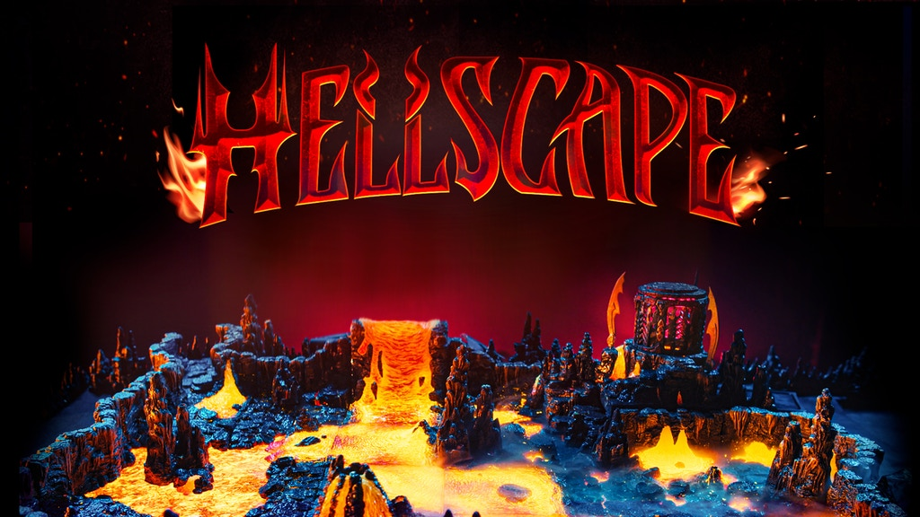 Hellscape - Modular Lava Terrain from Dwarven Forge project video thumbnail