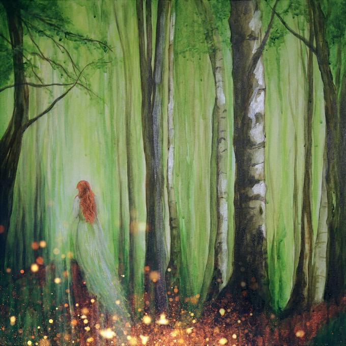 Keep Left at the Fork album cover, by Stacy Koviak-Davison