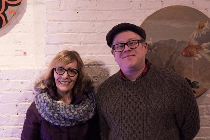 Claire de Brunner and James Keepnews, Forward Festival 2018