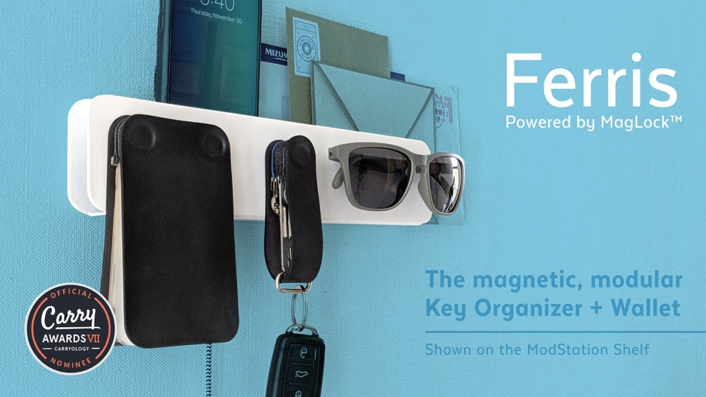 Ferris: Easily organize, instantly share + keep keys tidy project video thumbnail