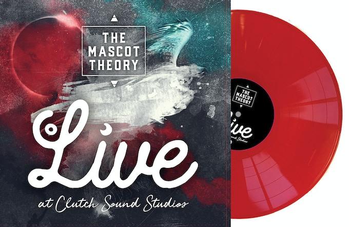 VINYL LP RECORD - pressed on Opaque Red vinyl