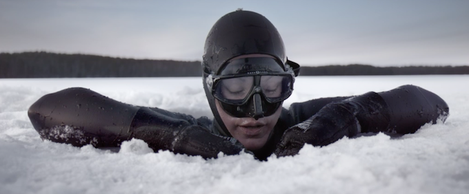 Arctic Freediving helped save her leg. Now Johanna Nordblad has a World Record. A film by Ian Derry.