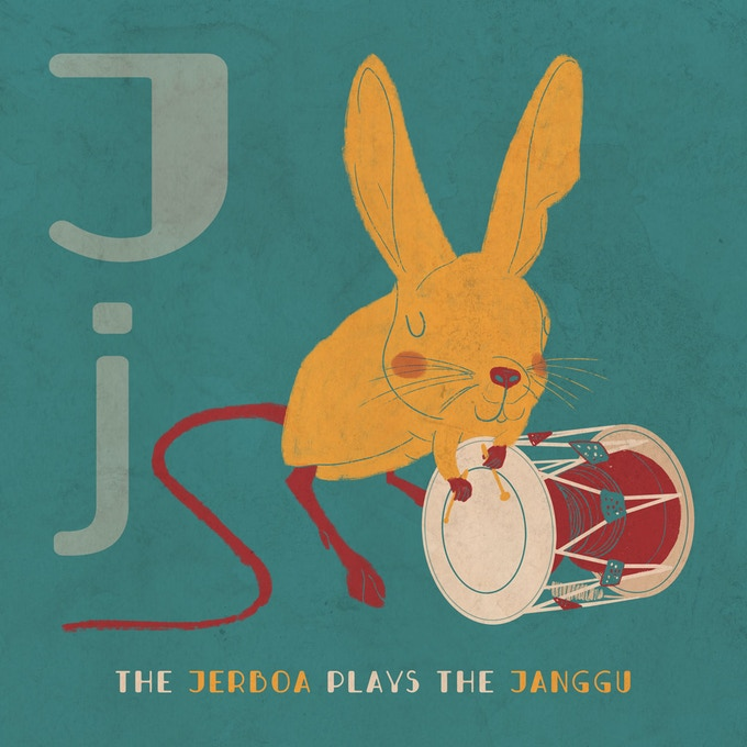 The Jerboa playing the Janggu