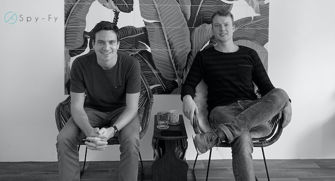 Spy-Fy Founders Ties (left) and Peter (right), working together since 2015
