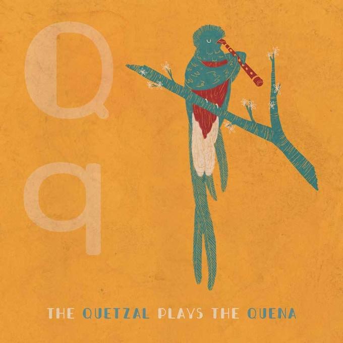 The Quetzal plays the Quena