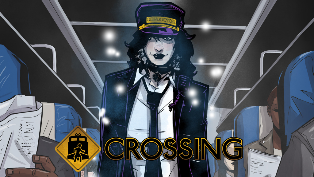 CROSSING #1 - 4, new issue in this paranormal mystery series project video thumbnail