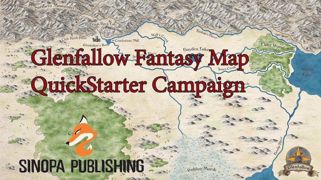Glenfallow Regional Fantasy Map ~ QuickStarter Campaign! project video thumbnail