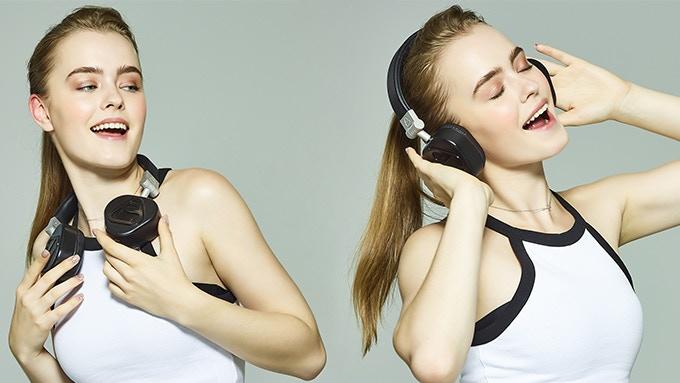 VERTO HEADPHONE have 2 ways to use it.