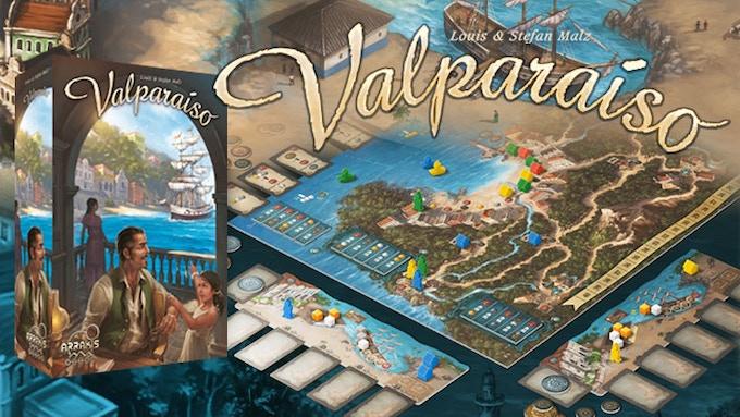 Valparaíso, de Louis y Stefan Malz, con arte de Michael Menzel