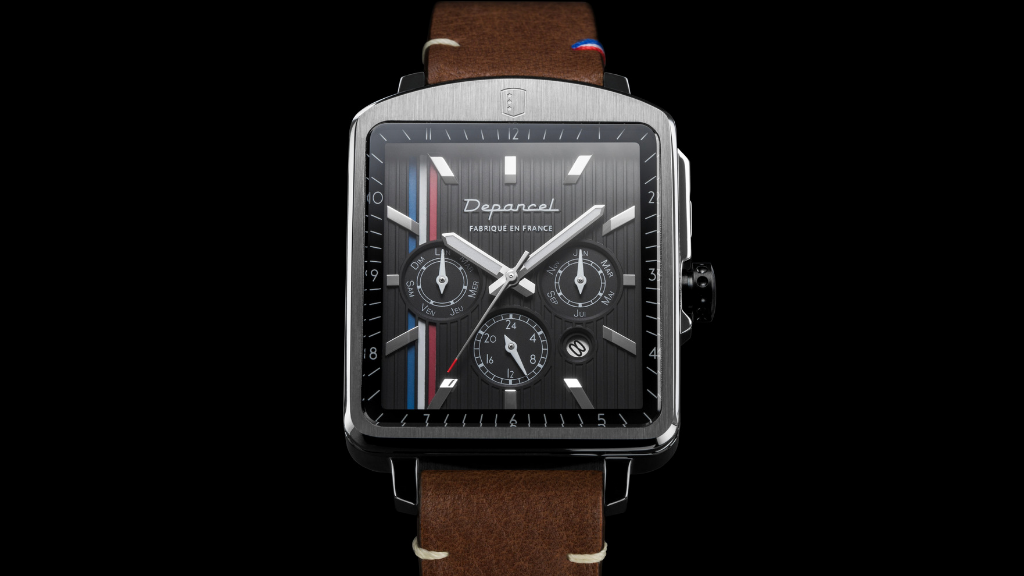 The Perfect Automatic Square-shaped Watch by Depancel project video thumbnail