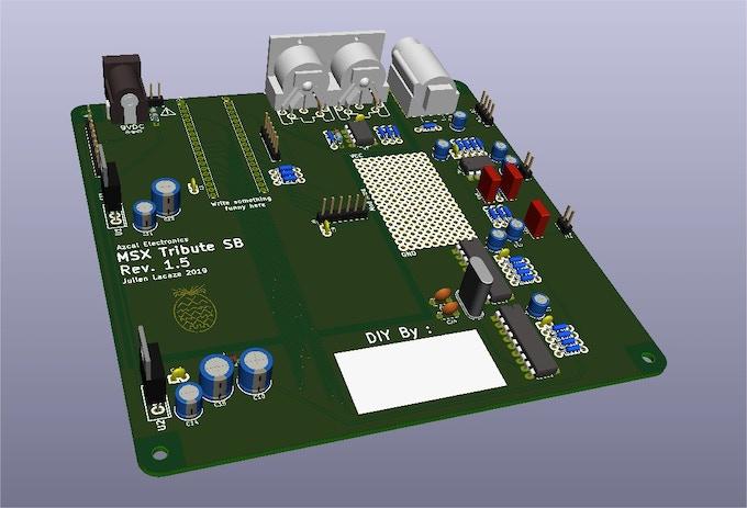 Final SoundBoard PCB
