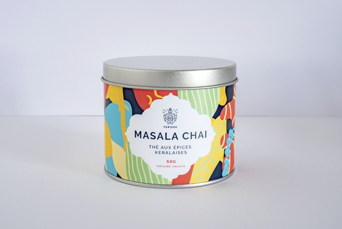 Our masala chai with Kerala spices!