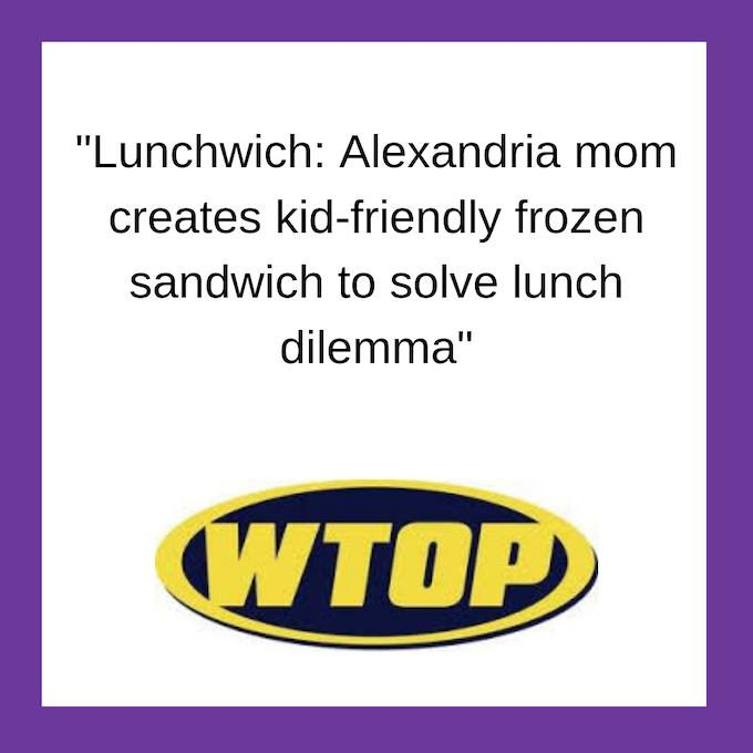 Lunchwich on WTOP