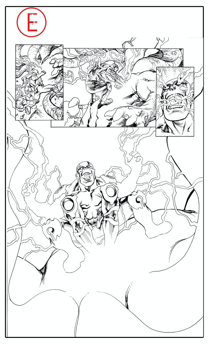 Dread Gods issue #1, page 15, by Tom Raney
