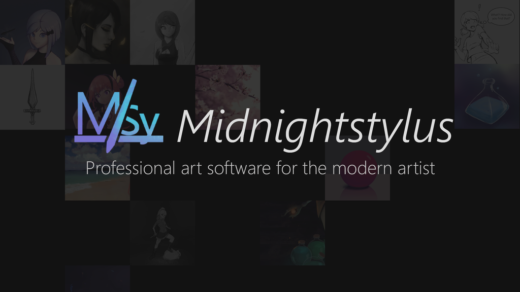 Project image for Midnightstylus - A modern art tool