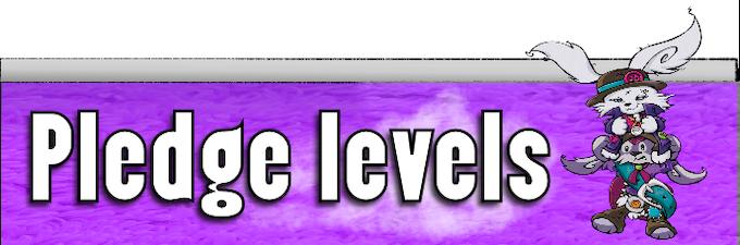 Backer levels