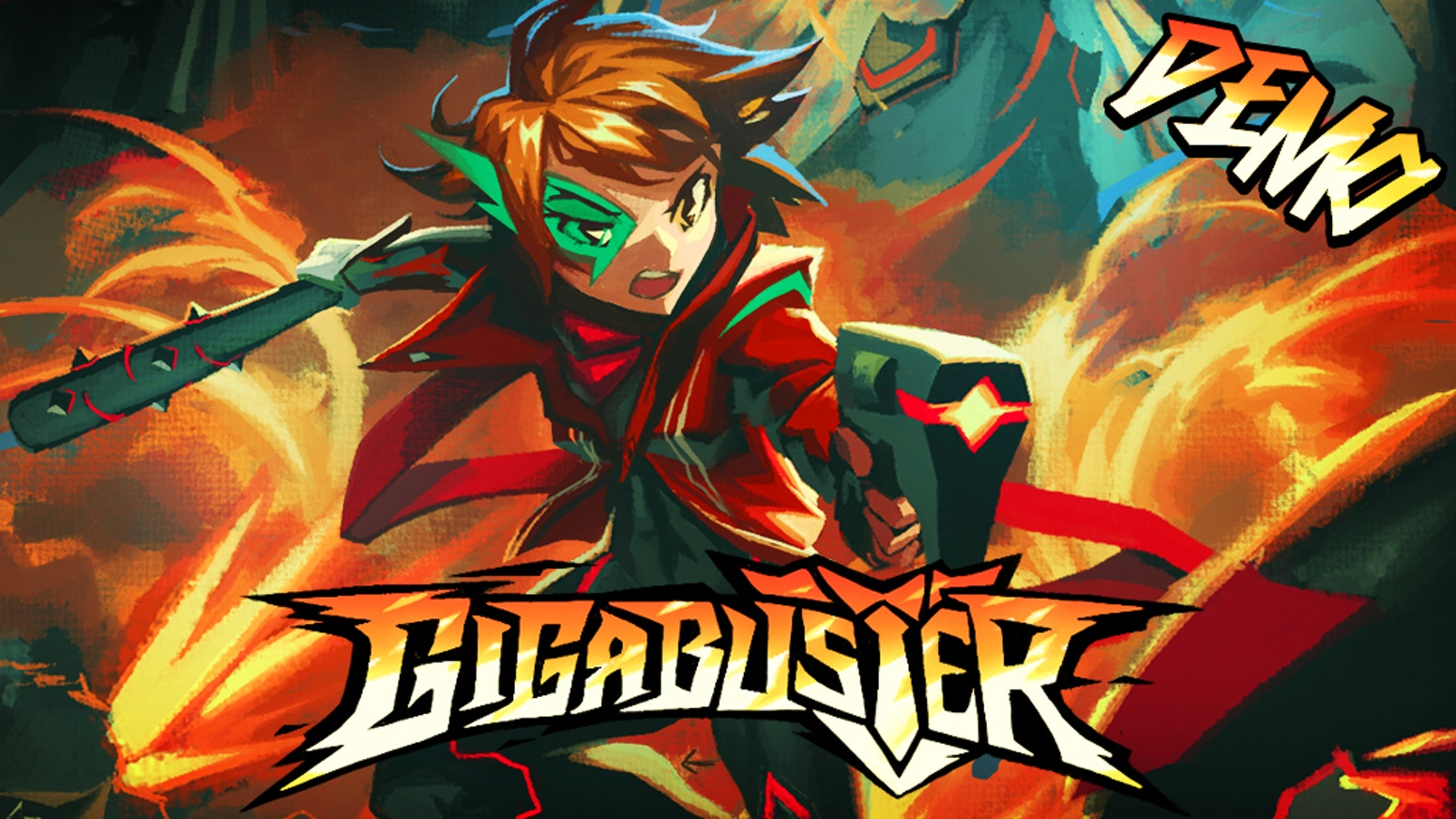 GIGABUSTER - Blazing action platformer (Demo Available) by