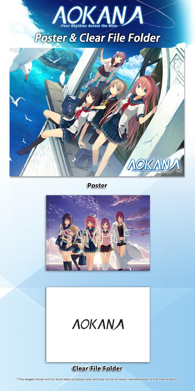 Poster & Clear File Folder