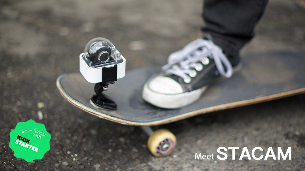 STACAM Intelligently Stable Action Camera.