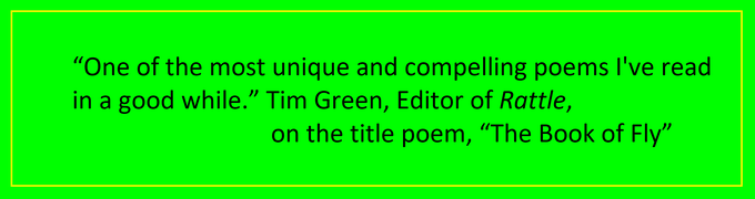 Tim Green, Editor of Rattle, one of the largest and best poetry magazines in the world.