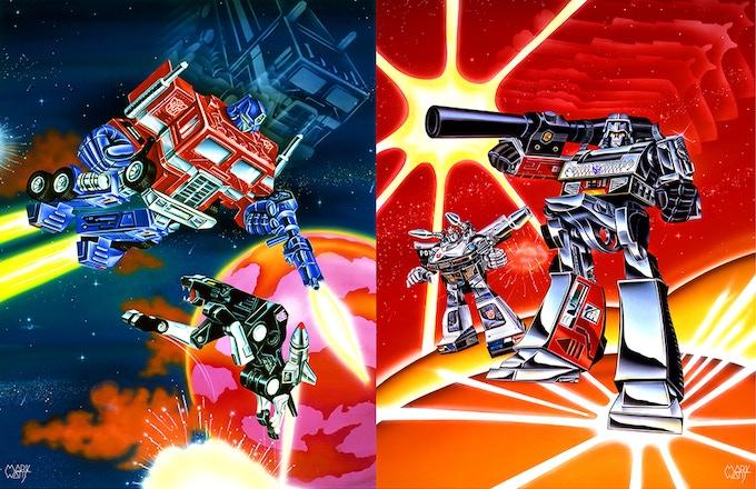 Transformer Scene 1 + 2 Together