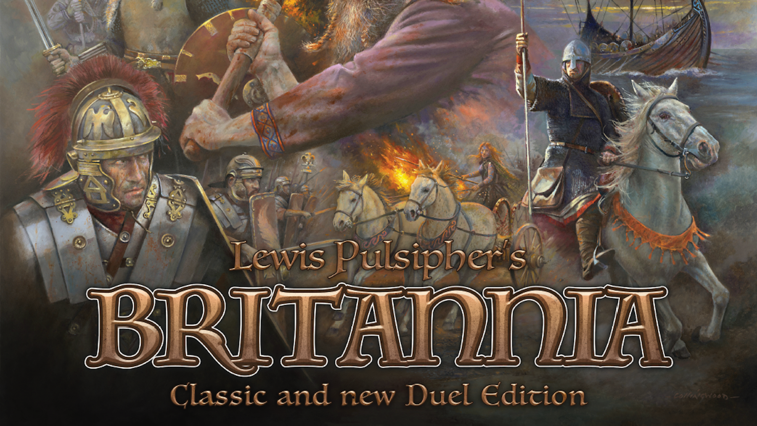 The much-loved historical board game Britannia returns with over 200 miniatures and TWO GAMES in ONE BOX: Classic and Duel!